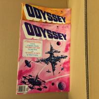 Lot revue Odyssey 5 (2 premiers numéros) de  COLLECTIF (Odyssey)