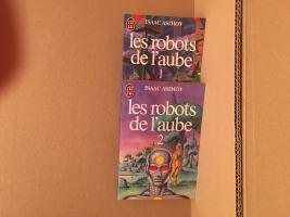 Lot : Les Robots de l'aube de Isaac ASIMOV (J'ai Lu SF)