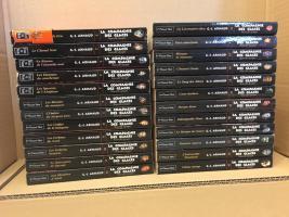 Lot : Intégrale Compagnie des glaces - nouvelle époque en 24 volumes de G.-J. ARNAUD (La Compagnie des glaces - nouvelle époque)