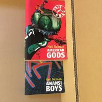 Lot : American Gods & Anansi Boys de Neil GAIMAN (AU DIABLE VAUVERT)