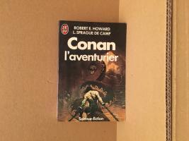 Conan l'aventurier de François TRUCHAUD, Robert E. HOWARD, Lyon Sprague DE CAMP (J'ai Lu SF)