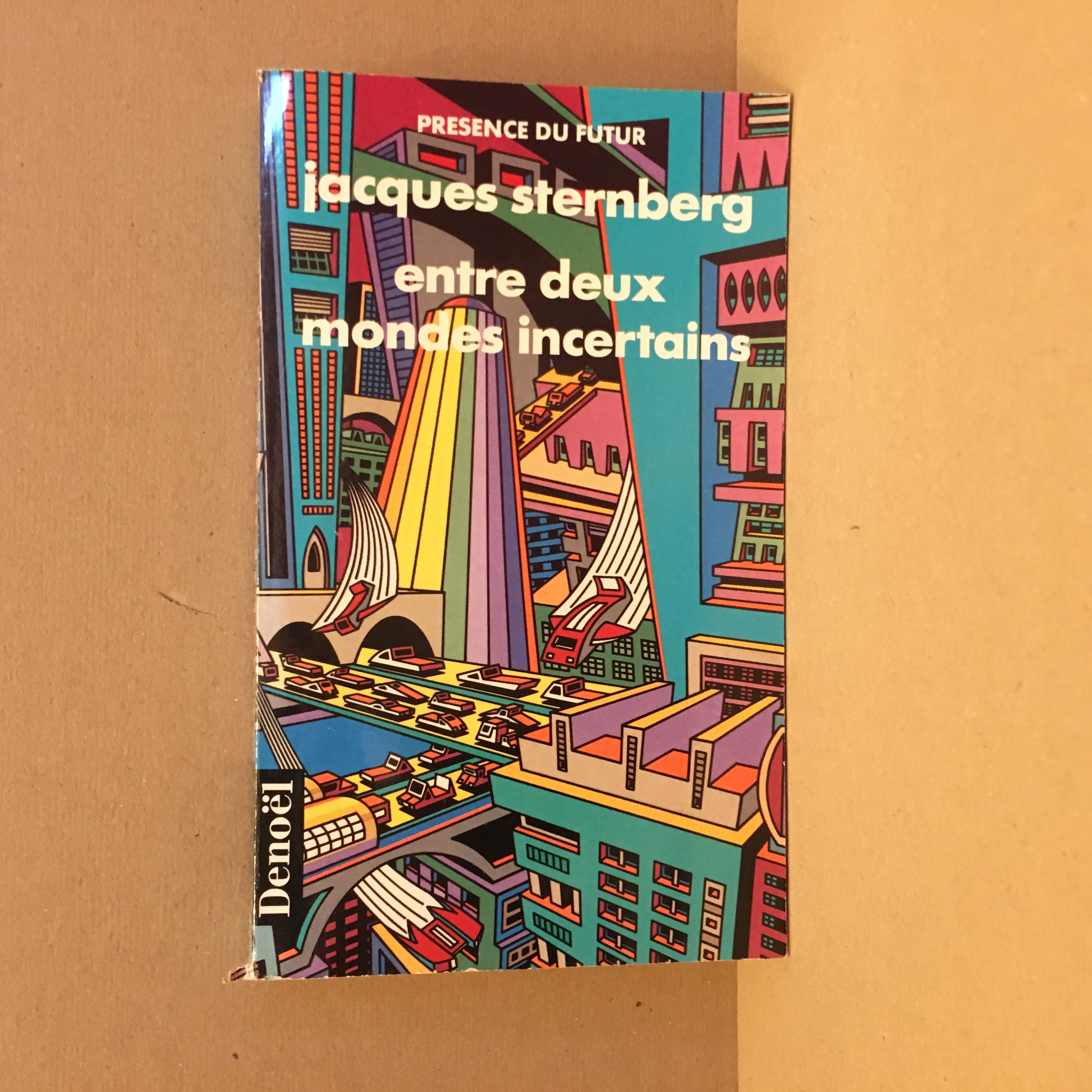 entre deux mondes incertains de jacques sternberg pr sence du futur n 21 librairie scylla. Black Bedroom Furniture Sets. Home Design Ideas