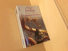 Le Seigneur du Chaos de Robert JORDAN (Pocket Fantasy)