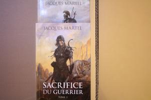 Lot : Sacrifice du guerrier - Intégrale de Jacques MARTEL (Icares)
