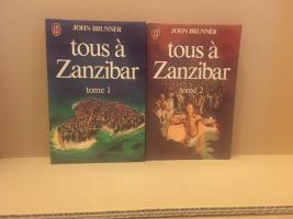 Tous à Zanzibar (T1 & T2) de John BRUNNER (J'ai Lu SF)