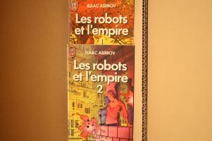 Lot : Les Robots et l'empire de Isaac ASIMOV (J'ai Lu SF)