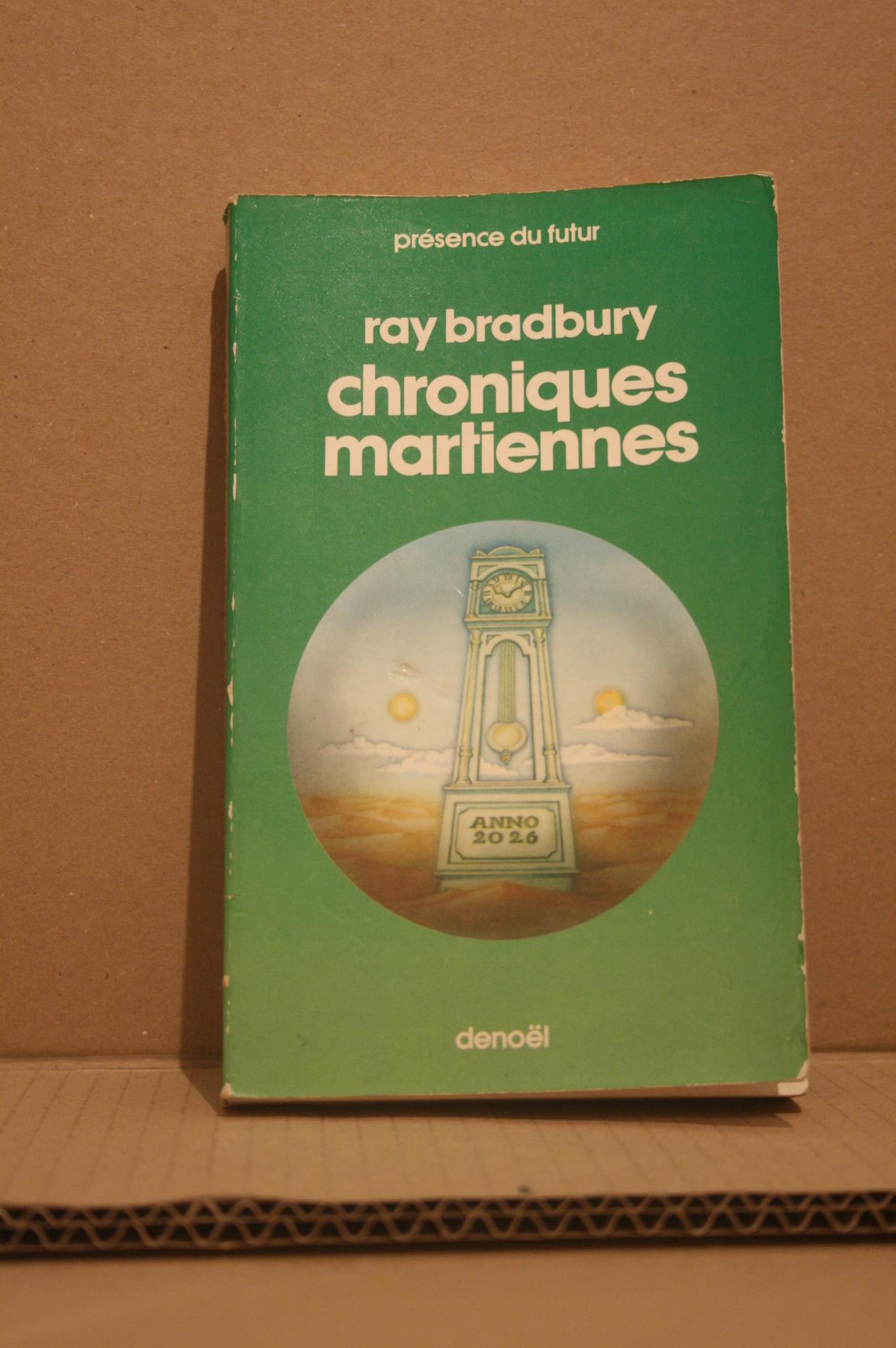 chroniques martiennes de ray bradbury jacques chambon pr sence du futur n 1 librairie scylla. Black Bedroom Furniture Sets. Home Design Ideas