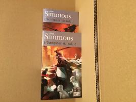 Lot : Intégrale de l'Échiquier du mal de Dan SIMMONS (Folio SF)