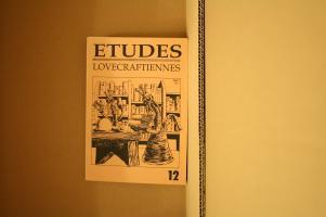 Études lovecraftiennes n° 12 de Joseph ALTAIRAC, Michel MEURGER, Simon LEQUEUX, Anita TORRES (Études lovecraftiennes (fanzine))